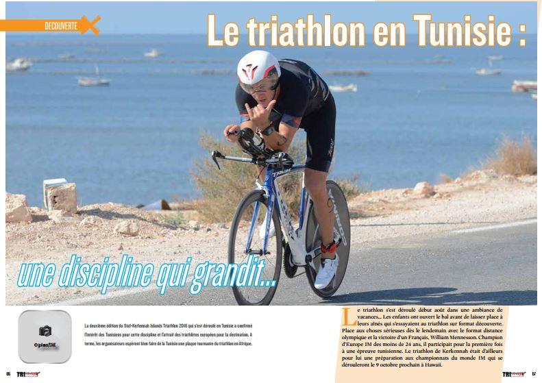 A découvrir dans TrimaX#157 : Le triathlon en Tunisie : une discipline qui grandit…