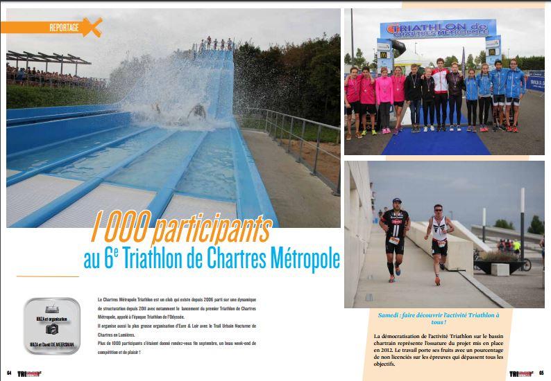 1000 participants au 6e Triathlon de Chartres Métropole, retour sur la course avec TrimaX#158