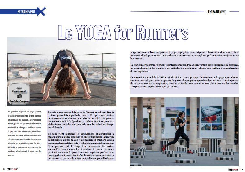 Le YOGA for Runners découvrez-le dans TrimaX#158