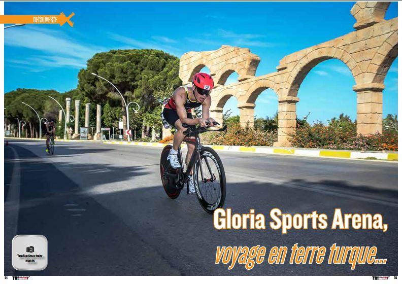 A découvrir dans TrimaX#159 : Gloria Sports Arena, voyage en terre turque…