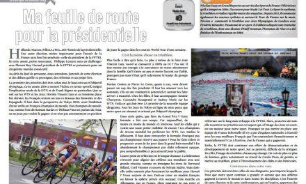 Retrouvez dans TrimaX#159 la feuille de route pour la présidentielle de Nicolas Geay