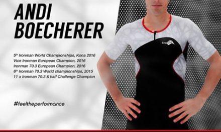 La star allemande du triathlon Andi Boecherer signe avec Kiwami !