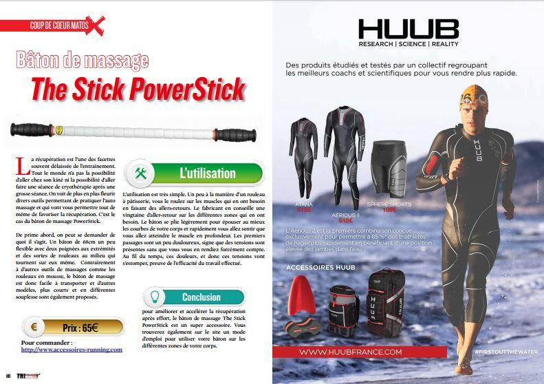 Découvrez dans TrimaX#160 le bâton de massage  : The Stick PowerStick