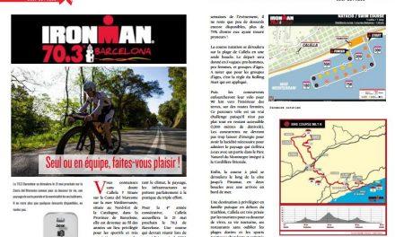 Découvrez avec TrimaX#160 l'Ironman 70.3 Barcelona