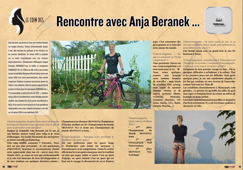 TrimaX#160 a rencontré Anja Beranek …