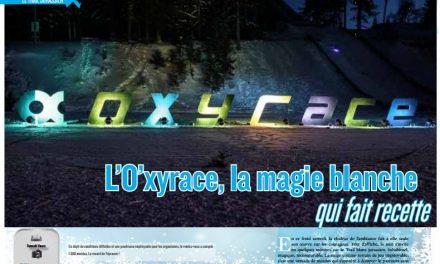 L'O'xyrace, la magie blanche qui fait recette c'est dans TrimaX#160