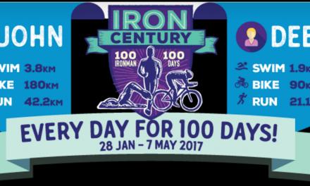 Record du monde en ce moment 100 ironman 100 jours