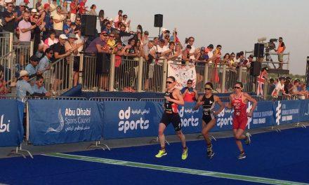 WTS Abu Dhabi : Andréa Hewitt s'impose au sprint devant Stimpson
