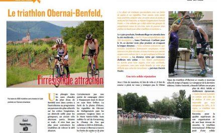 Découvrez dans TrimaX#161 : Le triathlon d'Obernai-Benfeld l'irrésistible attraction