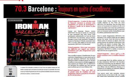 TrimaX#162 vous présente le 70.3 Barcelone : Toujours en quête d'excellence…