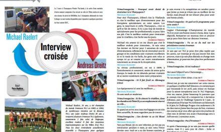 Ne manquez pas dans TrimaX#162 l'interview croisée de Michael Raelert et Andreas Dreitz