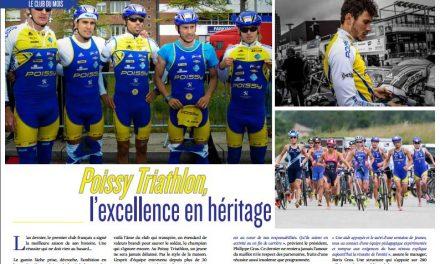 Poissy Triathlon, l'excellence en héritage, c'est dans TrimaX#162