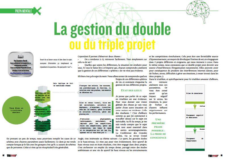 A lire dans TrimaX#162 :  La gestion du double ou du triple projet