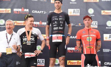 News Denis CHEVROT : Si proche de la victoire sur l'IRONMAN 70.3 Aix-en-provence