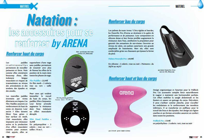 A découvrir dans TrimaX#163 : les accessoires pour se renforcer by ARENA