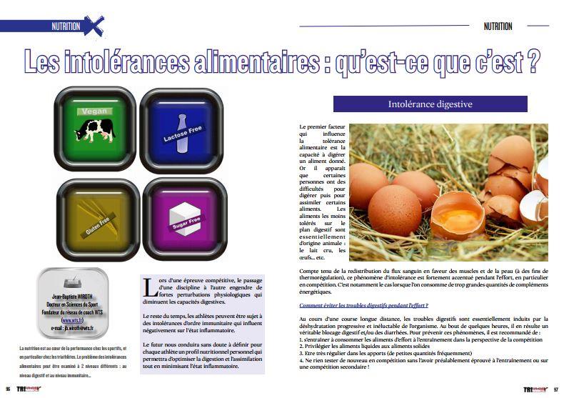 TrimaX#163 vous en dit plus sur les intolérances alimentaires