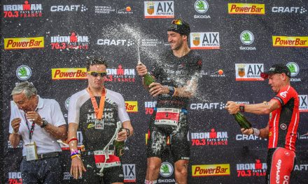 Billard remporte une nouvelle fois l'IRONMAN 70.3 Pays d'Aix pour une seconde.