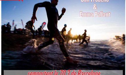 Jan Frodeno et Emma Pallant remportent le 70.3 de Barcelone c'est dans TrimaX#164
