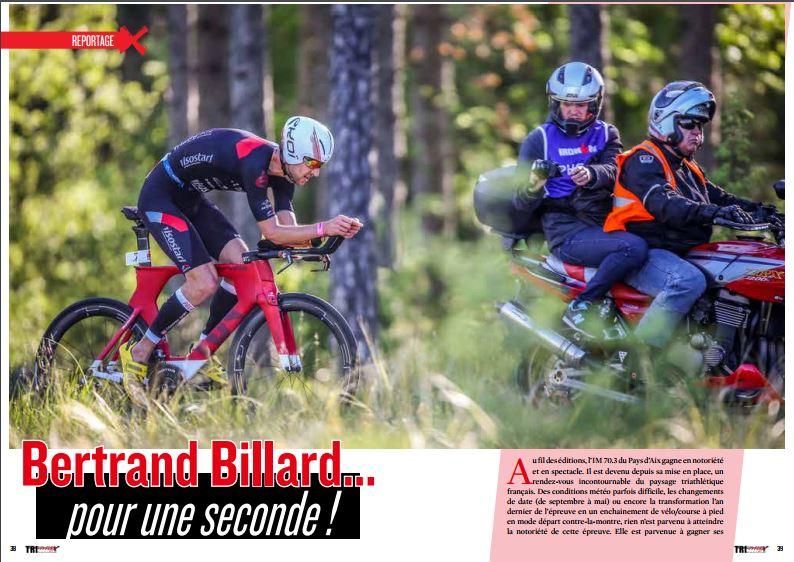 TrimaX#164 revient sur l'IM 70.3 Pays d'Aix avec la victoire de Bertrand Billard…