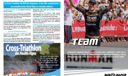 Ne manquez pas dans TrimaX#164 le Cross Triathlon du Défi des Argouses