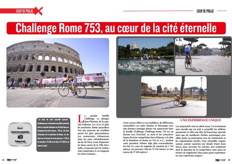 Venez découvrir avec TrimaX#164 : Challenge Rome 753