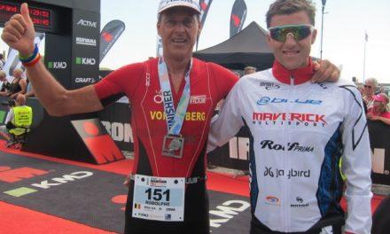 Ironman 70.3 Elsinore : La course des Von Berg