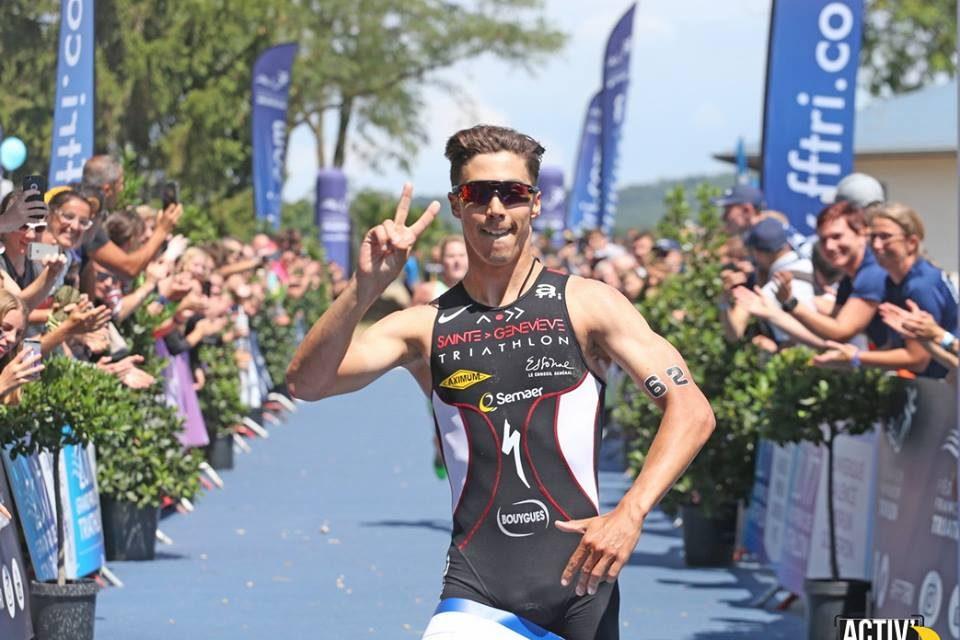 2ème étape du Grand Prix de Triathlon – Vincent Luis et Cassandre Beaugrand frappent fort – Valence (26) – dimanche 02 juillet