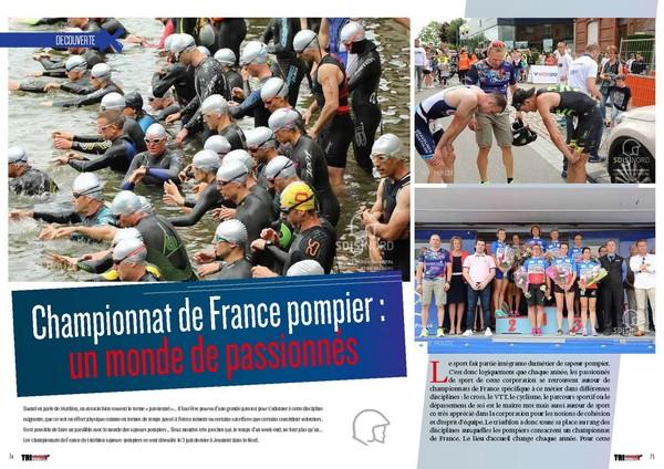 Championnat de France pompier : un monde de passionnés a découvrir dans TrimaX#165