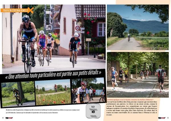 A lire dans TrimaX#165 le triathlon d'Obernai-Benfeld