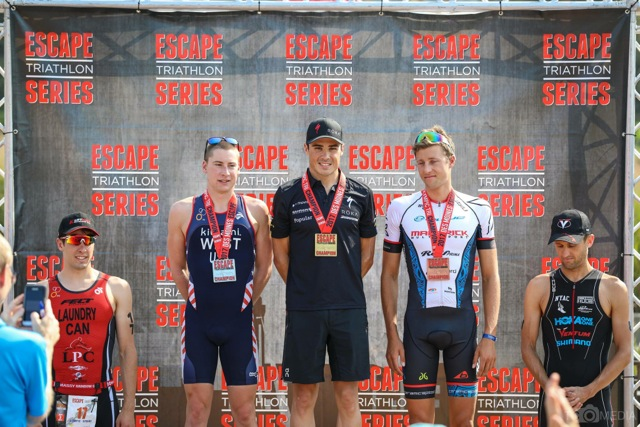 Rodolphe Von Berg: 3ème del'Escape Tri series Des Moines