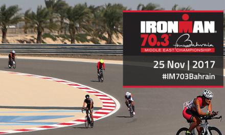 Bahreïn se prépare pour la 3ème édition de l'Ironman 70.3 Middle East Championship, le 25 novembre 2017