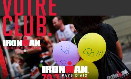 Courez à l'IRONMAN 70.3 Pays d'Aix pour gagner avec votre club !