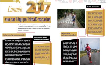 L'année 2017 vue par l'équipe TrimaX#170