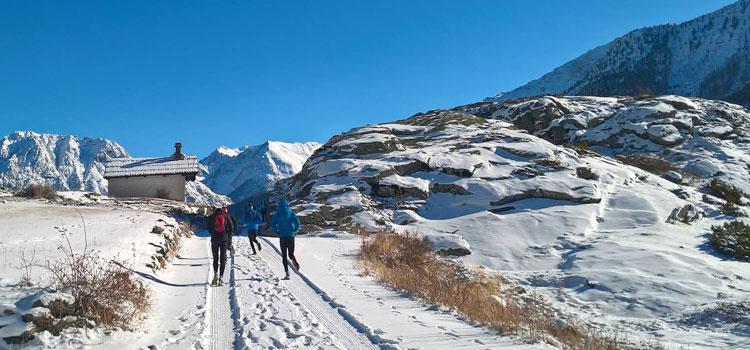 Trail Blanc New Balance, la course sur neige la plus sauvage