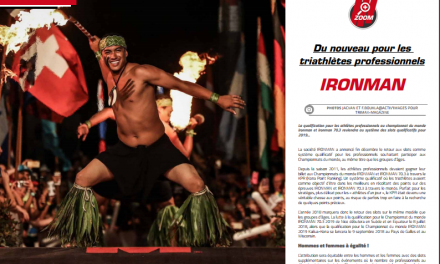 Ironman : du nouveau pour les triathlètes professionnels, à lire dans TrimaX#171
