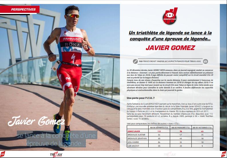 Javier Gomez se lance à la conquête d'une épreuve de légende…