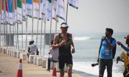 Ironman 70.3 Sri Lanka: Eric Ridez 8ème …
