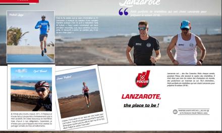 Petit portfolio de triathlètes qui ont choisi Lanzarote pour préparer la saison 2018…