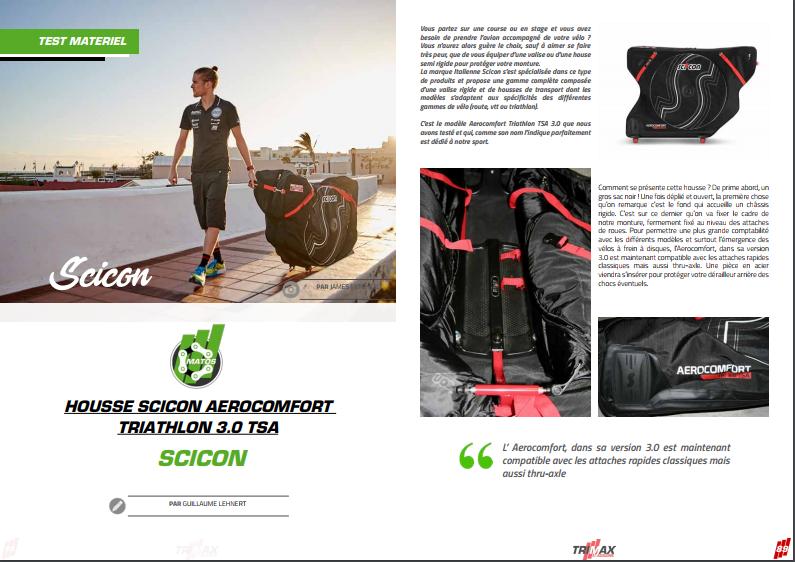 TrimaX#171 a testé la housse Scicon aerocomfort triathlon 3.0 TSA