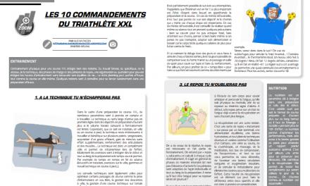 A découvrir dans TrimaX#172 : les 10 commandements du triathlète XXL