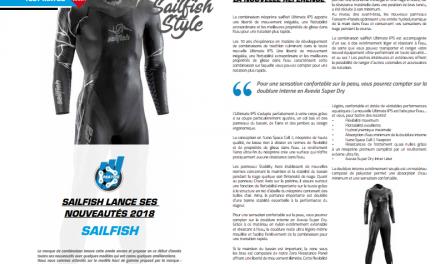 A découvrir dans TrimaX#172 : Sailfish lance ses nouveautés 2018