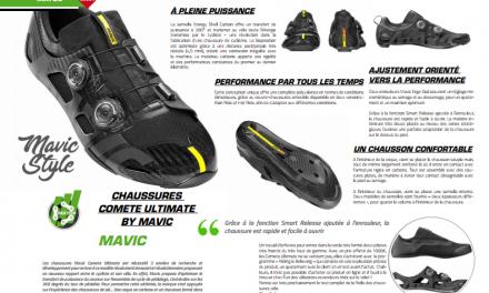 Découvrez dans TrimaX#172 les chaussures Comete Ultimate by Mavic