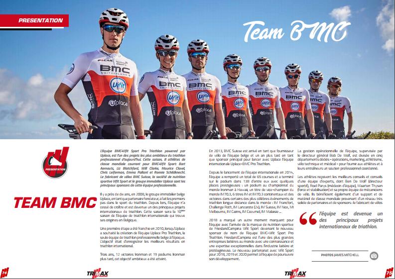 Découvrez dans TrimaX#172 la team BMC
