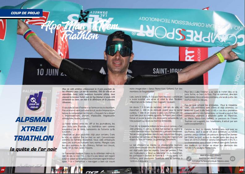 Découvrez l'AlpsMan XTrem Triathlon dans TrimaX#173