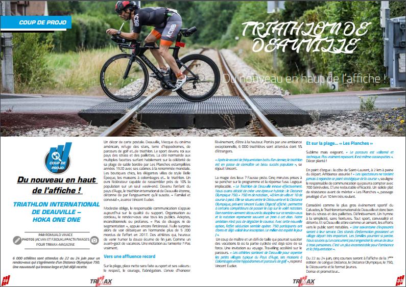 Triathlon de Deauville : du nouveau en haut de l'affiche ! TrimaX#173 vous dit tout !