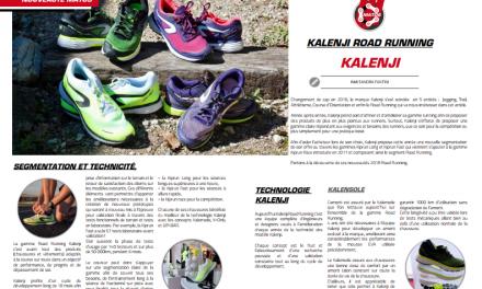 A découvrir dans TrimaX#173 : Kalenji road running