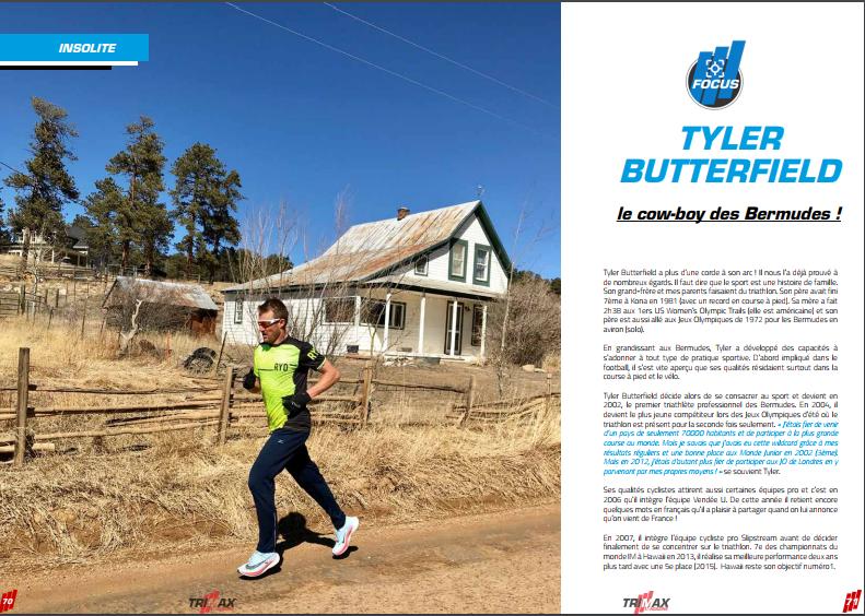 A ne pas manquer dans TrimaX#173 : Tyler Butterfield le cow-boy des Bermudes !