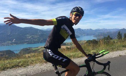 Tom Lecomte, étoile montante du triathlon L, nouveau champion de France de duathlon
