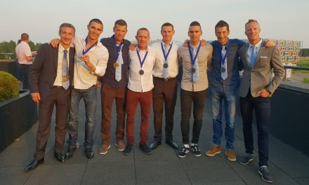L'Équipe de France Police de Triathlon décroche la médaille de bronze
