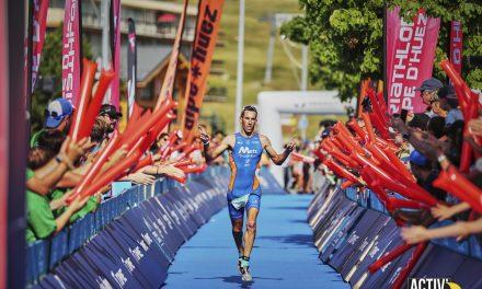 La passe de 3 pour Yohann Le Berre à l'Alpe d'Huez